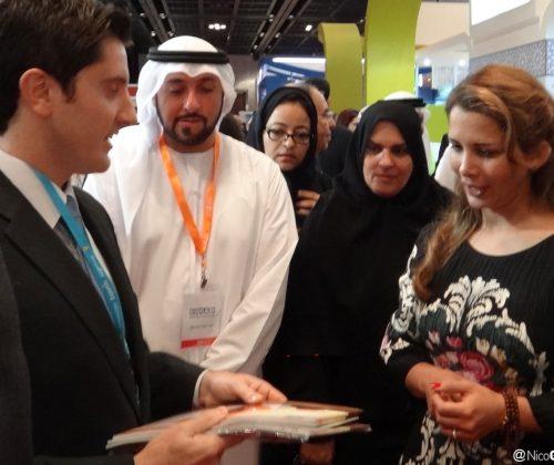 Nico with Princess Haya bint Hussein
