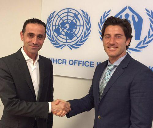 Nicolas Garcia Mayor – Firas Kalas presentation UNHCR