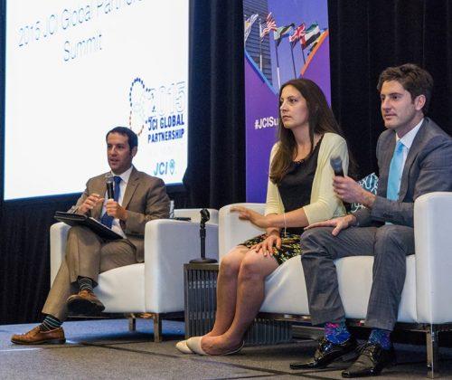 Nico Garcia Mayor at the United Nations Global Partnership