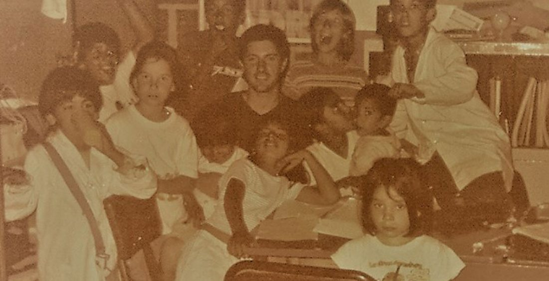 Nico in the first Malnutrition Center for children